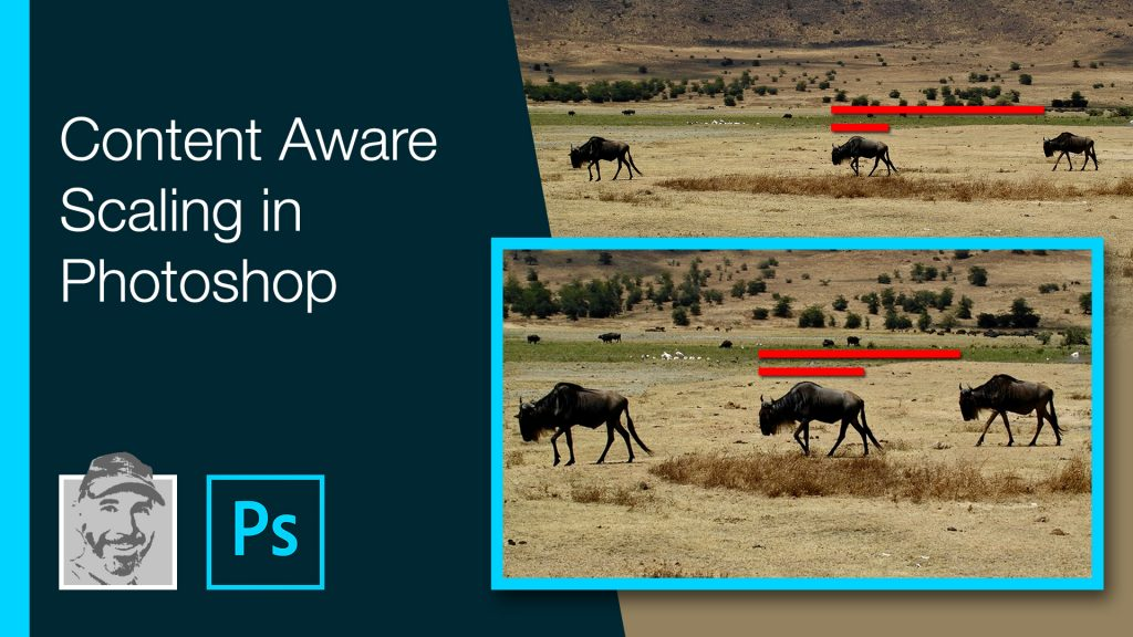 Content Aware Scaling in Photoshop