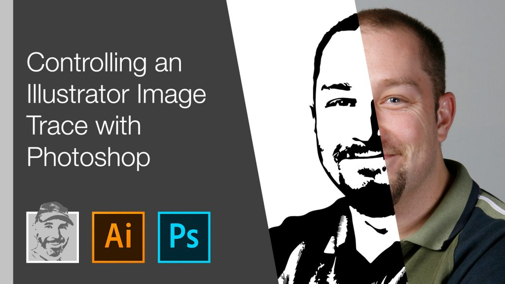 Controlling an Illustrator Image Trace with Photoshop