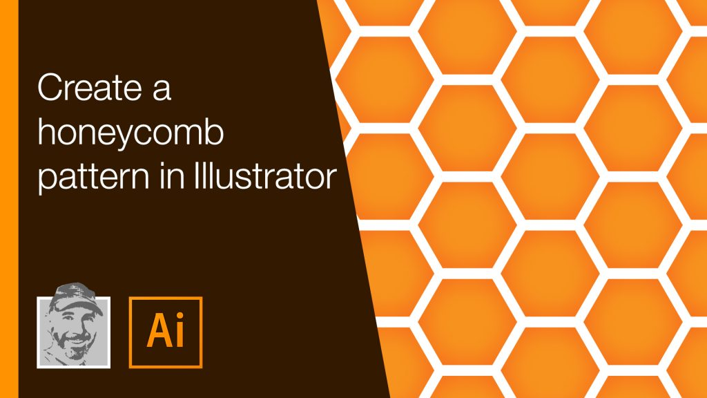 Create a honeycomb pattern in Illustrator