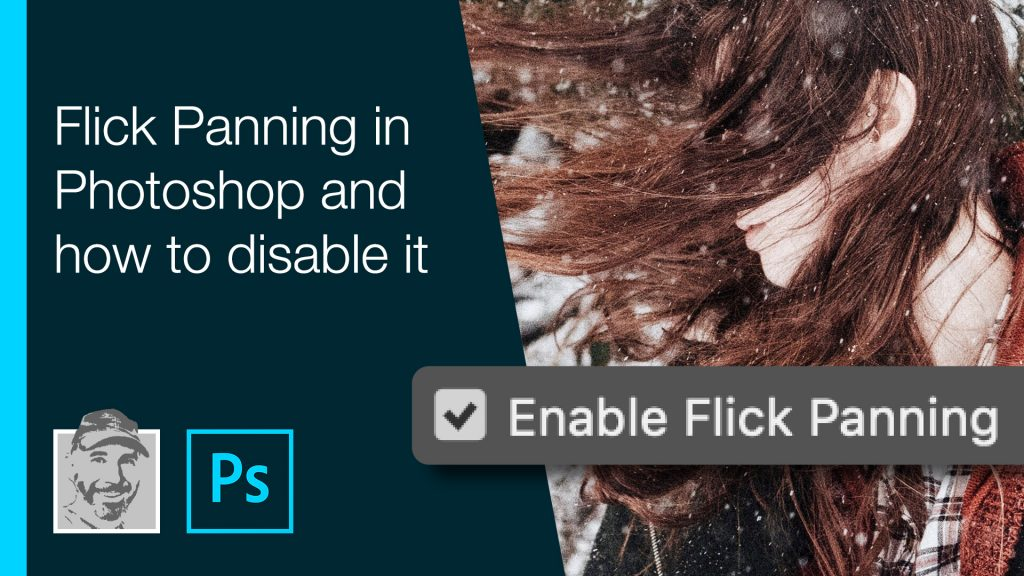 Flick Panning in Photoshop and how to disable it