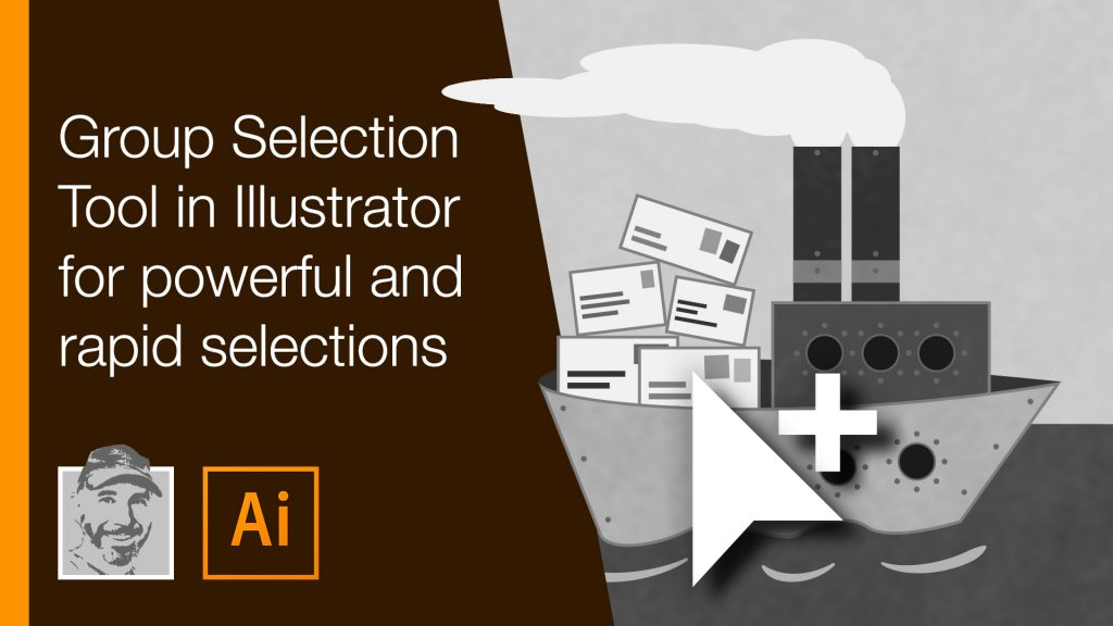 Group Selection Tool in Illustrator for powerful and rapid selections