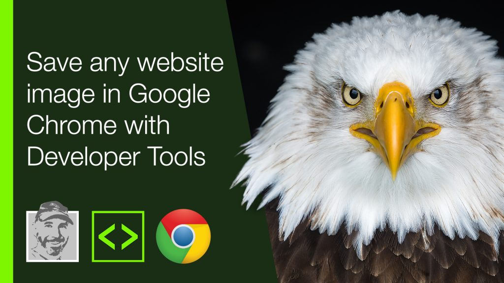 Save any website image in Google Chrome with Developer Tools