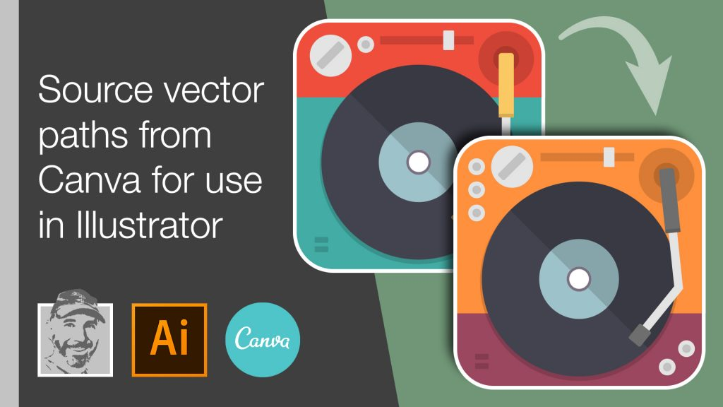 Source vector paths from Canva for use in Illustrator