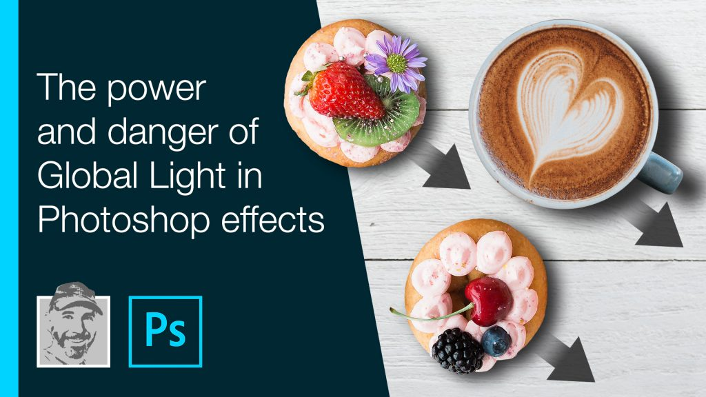 The power and danger of Global Light in Photoshop effects