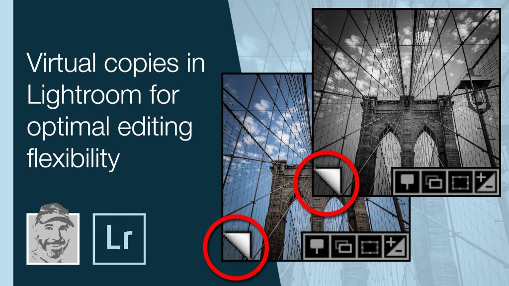 Virtual copies in Lightroom for optimal editing flexibility